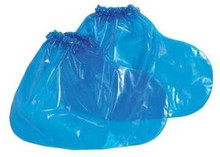 Polyco 49510 Large Blue Vr Shoe Covers 4 Mil Case/100 Pairs Shoecover Booties