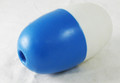 AQUA PRODUCTS | FLOAT BALL (Blue & White, Large) - For Large Cable with Rope Assembly | 3288-175