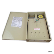 INTERMATIC   DUAL BOX 1 T104M WITH 125 AMP CENTER   DPST 220V   T40004R