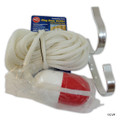 MAINTENANCE LINE   BUOY HOLDER WITH 60' HEAVING LINE   PS374