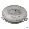 """MAINTENANCE LINE   20"""" WHITE FOAM RING BUOY CGA   COAST GUARD APPROVED   PS360"""
