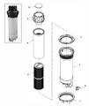 WATERWAY   TELEWEIR TRIM RING - 6-SCALLOP, WHITE   519-8310