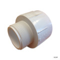 "PVC LASCO | 1-1/2""x2"" RED MALE ADAPTER 