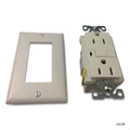 ELETRICAL   20 AMP GFCI RECEPTACLE   TAMPER RESISTANT WHITE   GF20A-TR