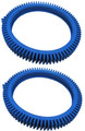 POOLVERGNUEGEN | THE POOL CLEANER BLUE VINYL FRONT TIRE 2 PACK | 896584000-075