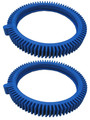 POOLVERGNUEGEN | THE POOL CLEANER FRONT TIRE WITH SUPER HUMP | 2 PACK BLUE STD | 896584000-143