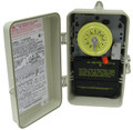 INTERMATIC | 24-HOUR, 240V DPST, W/ FIREMAN'S SWITCH | T104P201