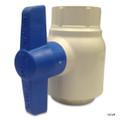 "PVC SPEARS BALL VALVES | 2"" MOLDED PVC BALL VALVE | (BLUE HANDLE) UTILITY | 2 INCH  | 2622-020"