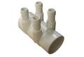 "Balboa Water Group   MANIFOLD   4-PORT 2"" SLIP X 2"" SPIGOT X 3/4"" BARB   53016300"
