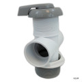 "Balboa Water Group   DIVERTER VALVE   3-WAY FLOW 2"" SLIP X 2"" SLIP X 2"" SLIP - GRAY   11-4000GRY"