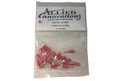 Electro Specialties | WIRE TERMINAL | RING - #22-18 - 8 STUD - RED (25/BAG) | RV8R