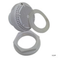 Waterway Plastics | Suction Assy,w/Hex Nut, Wall Fitting, White | 640-3250V