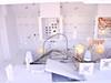 "White 66"" x 84"" x 84""  Poly Clean Room Acid Tech Bench Shell"