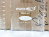 VWR 89000-216 2000ml Low Form Beaker Double-Capacity Scale - LOT OF 4