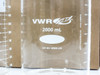 VWR 89000-228 2000ml Heavy-Duty Low Form Beakers Borosilicate Glass - LOT OF 2