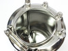 "Apache Stainless Portable Pressure Vessel Large Mouth 1/4"" FNPT 4 Gal (90-4)"