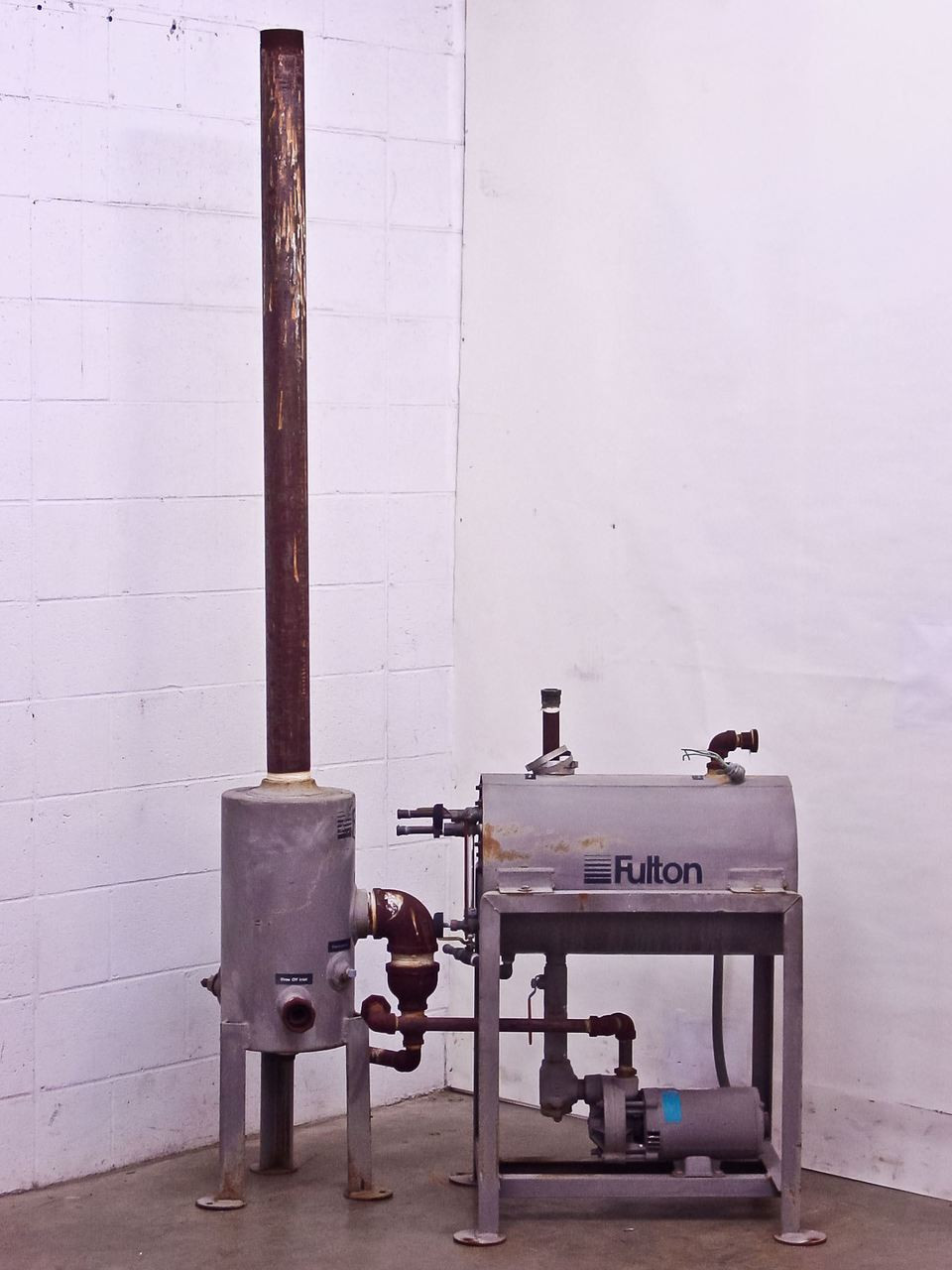 Steam Boiler Condensate Return System ~ Fulton ht horizontal condensate boiler return system