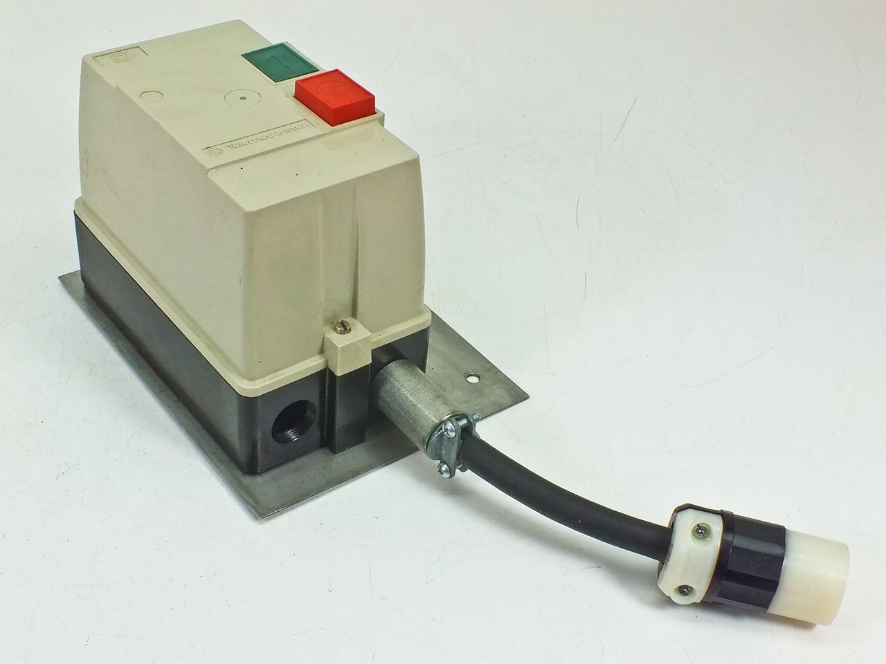 Telemecanique le1d253 motor starter Telemecanique motor starter