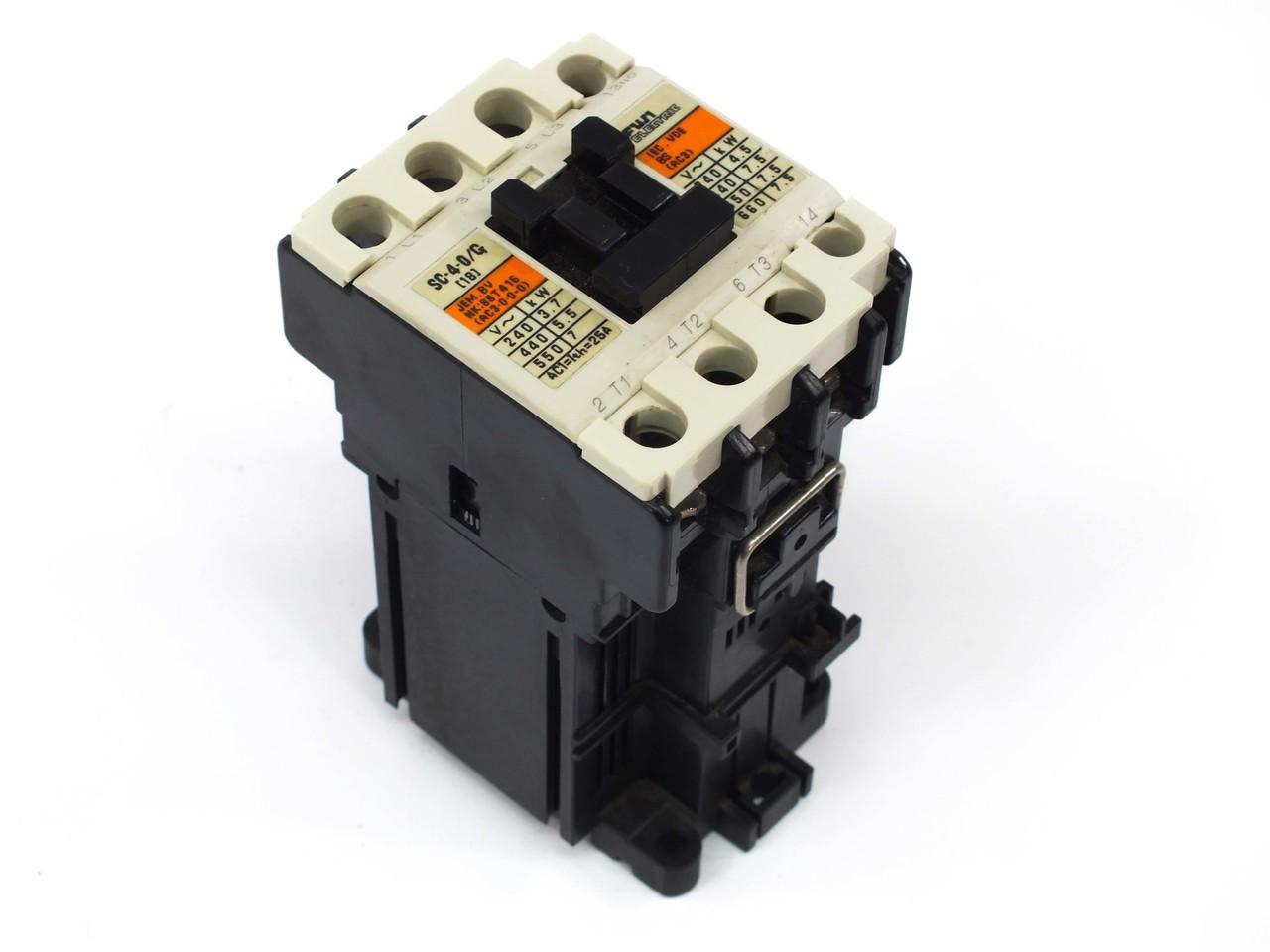 Fuji Electric Sc18ag Non Reversing Sc 4 0 G 24v Dc