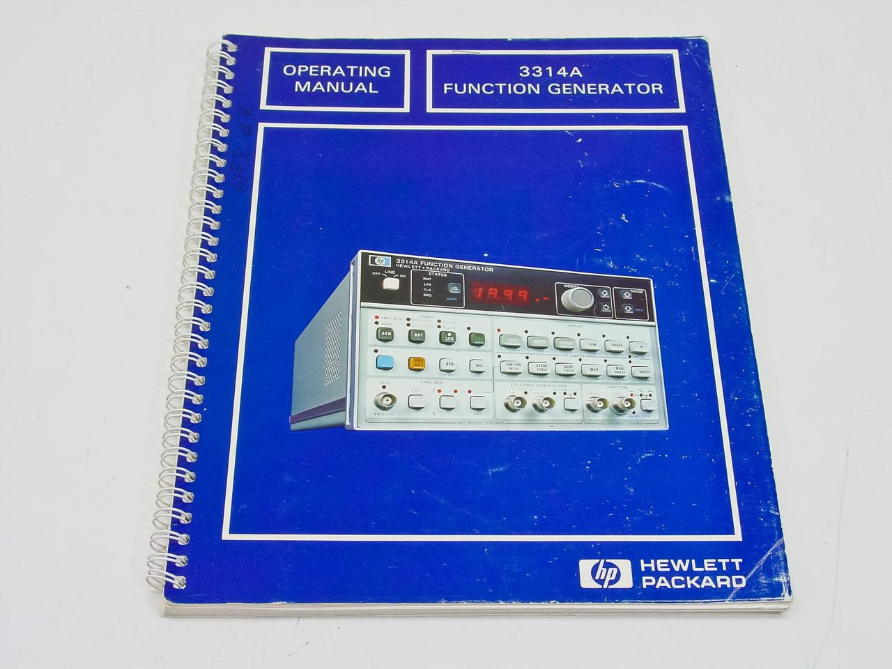 Hp 3314a Function Generator Operating Manual