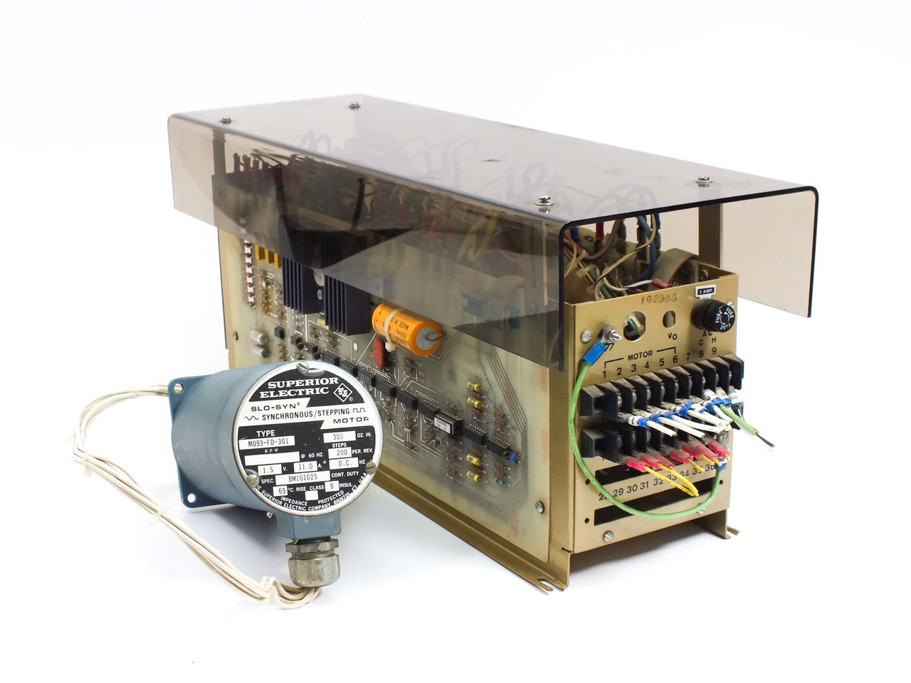 Superior Electric Tbm105 9322 Translator With Synchronous