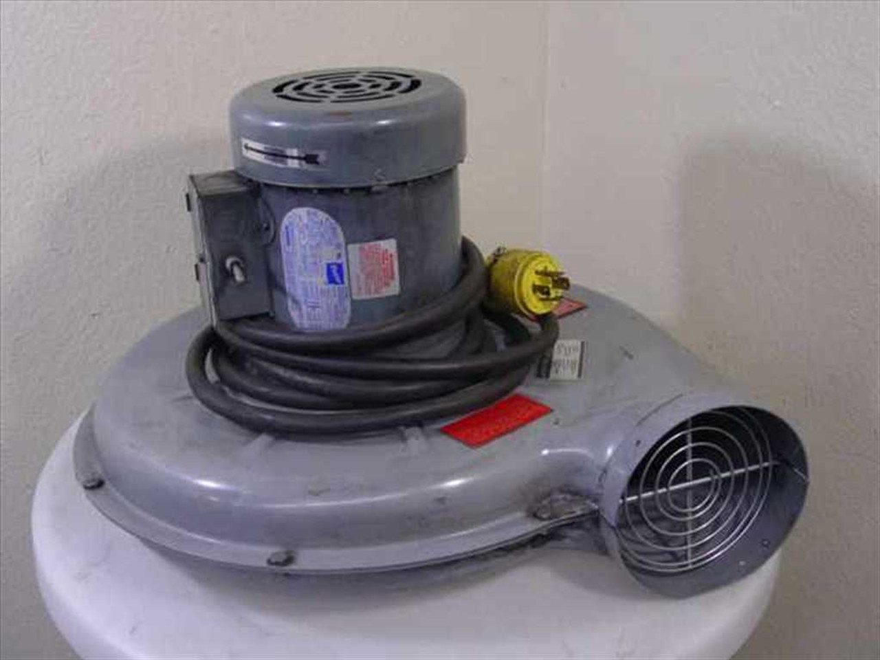 Cincinnati 12864b Motor Head For Dust Collector Vacuum