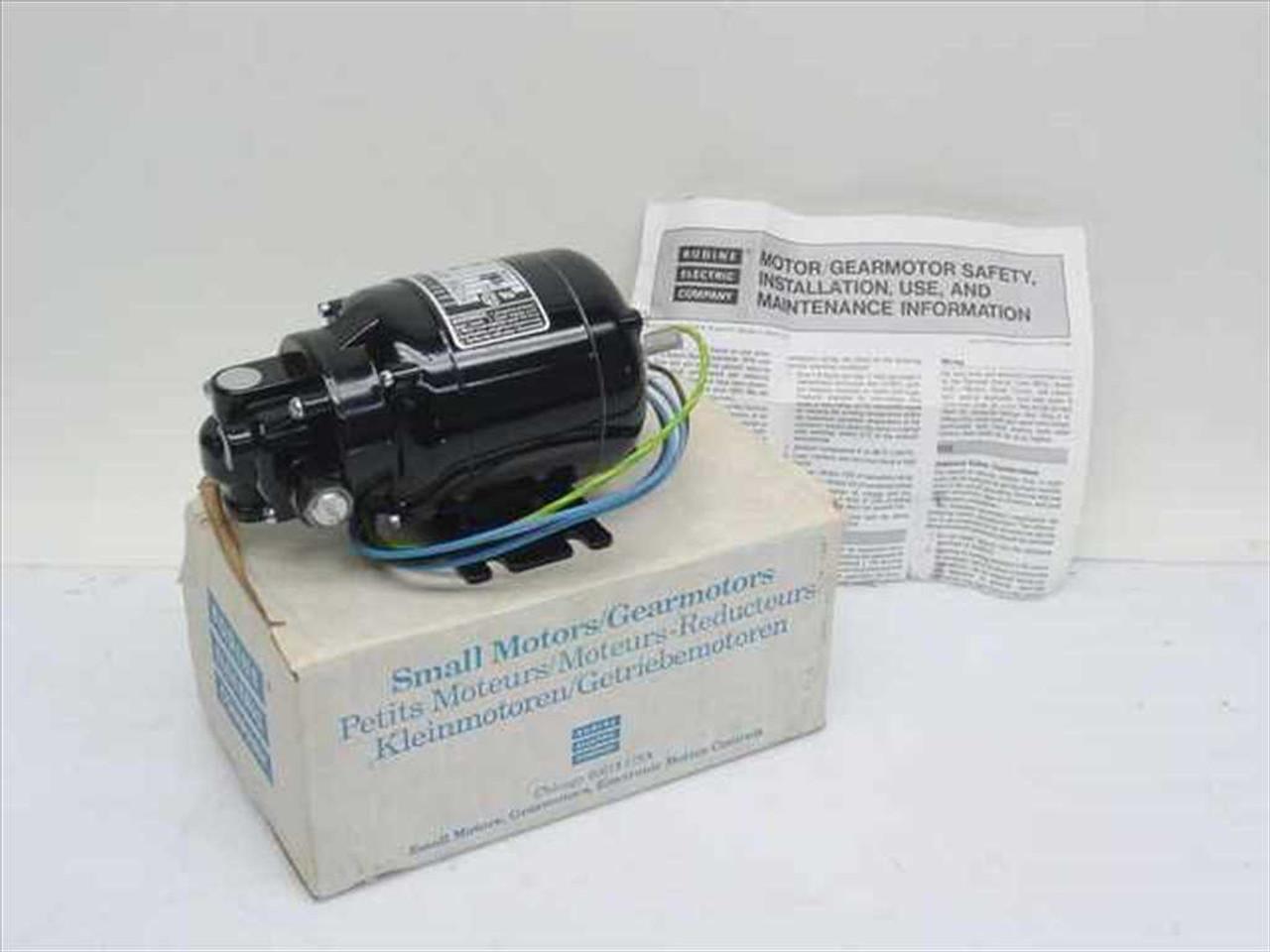 Bodine Electric Nsi 12r Gear Motor 1 70 Hp 290 Rpm 2 3