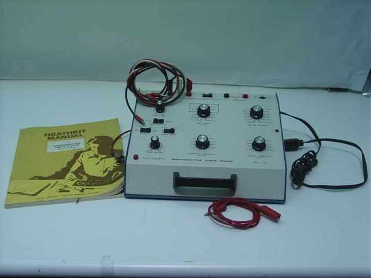Curve Tracer Kit : Heathkit it semiconductor curve tracer