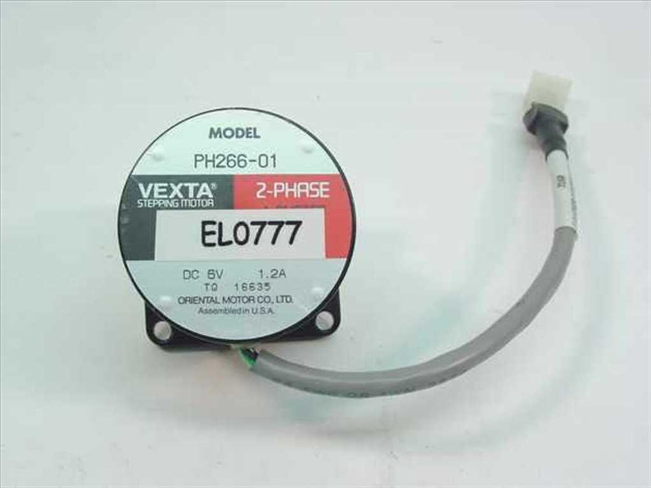 Vexta Ph266 01 Stepper Motor 2 Phase Oriental Motor Co
