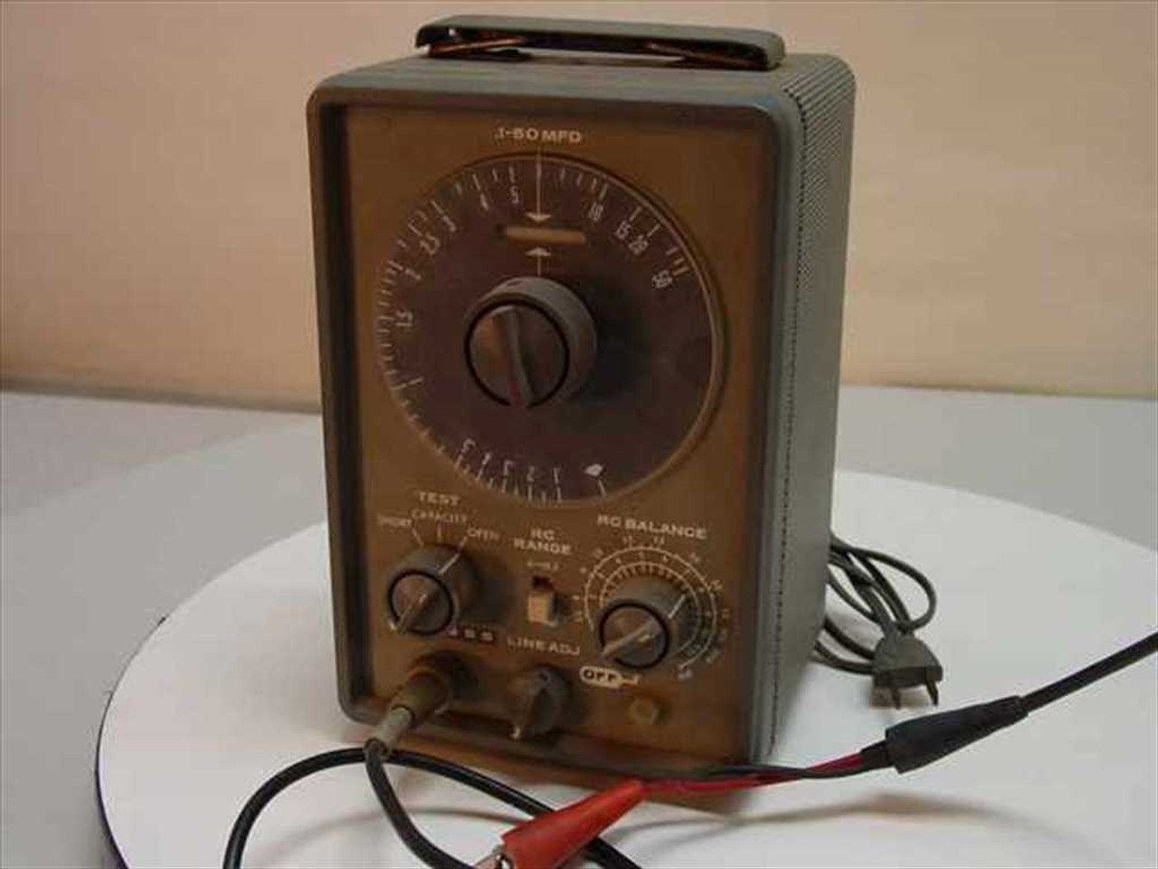 Eico 955 In Circut Capacitor Tester Vintage Collectable