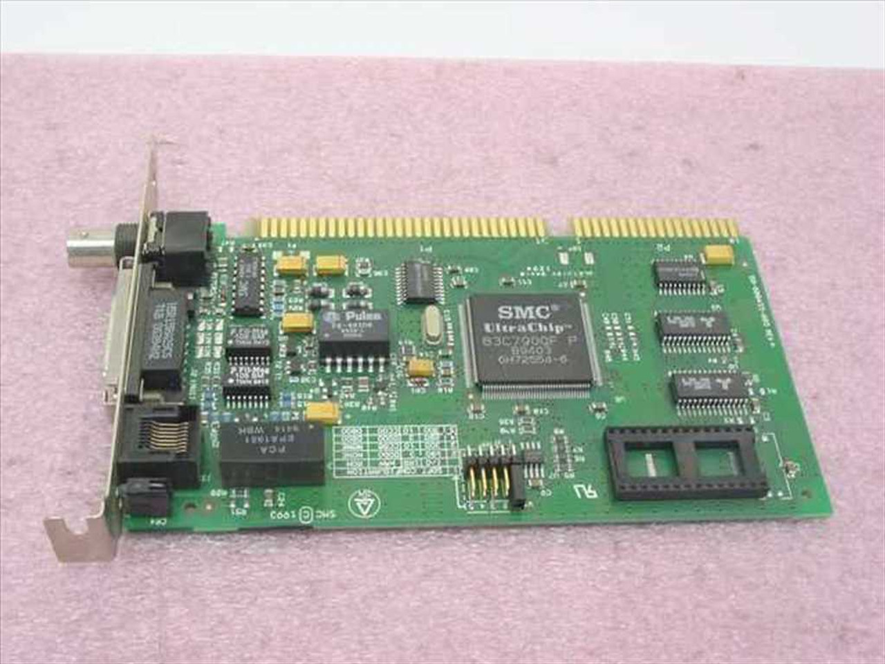 Isa networks inc - Smc 8216c Ethernet Isa Rj45 Aui Bnc Network Card