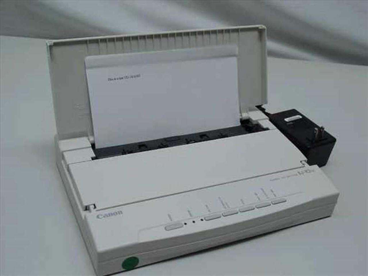 Canon bubble jet printer bj-10sx