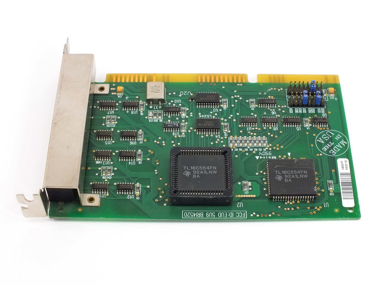 Boca Research 4522 8 Port 16 Bit ISA Internal Modem Card