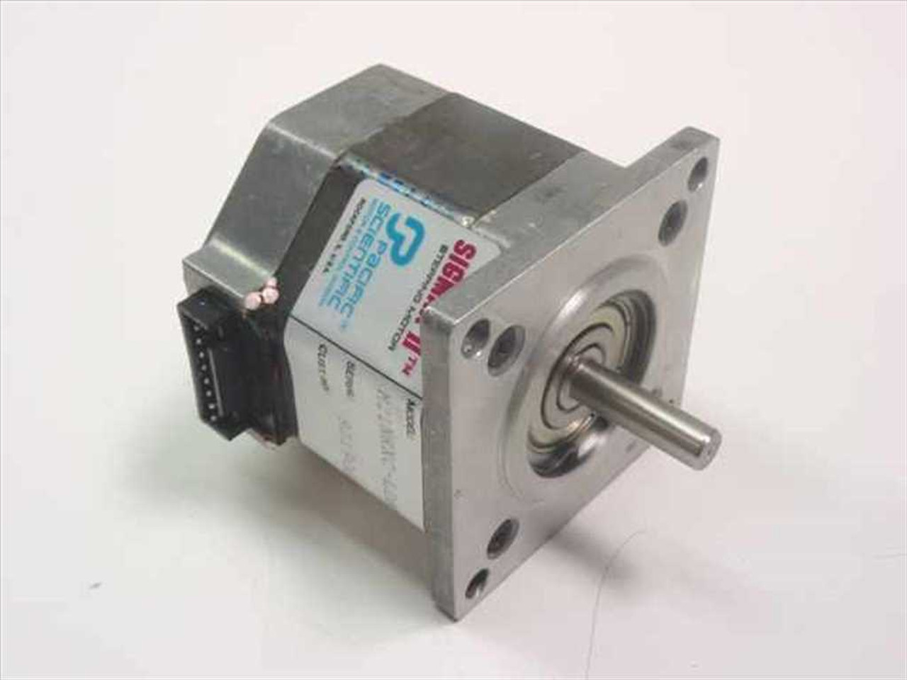 Pacific Scientific Motor Control Division M21nrxc Ldn Ns 00 Sigmax Ii Stepping Motor