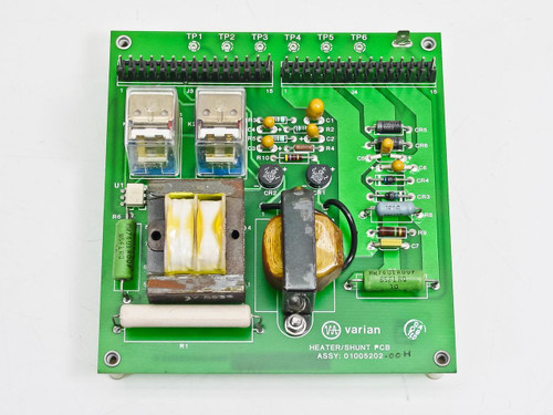 Varian Heater/Shunt PCB Board 01005202-00H 01005201 E
