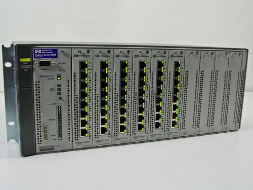 HP ProCurve Switch 4000m 10/100/100 with (6) J4111A Modules (J4121A)