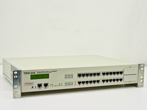 Cabletron Systems Token Ring Rackmount Hub with Lanview TRXI-24A