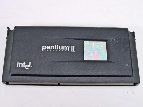 Intel PII 266 MHz CPU 80522PX266512 512kb cache (SL265)