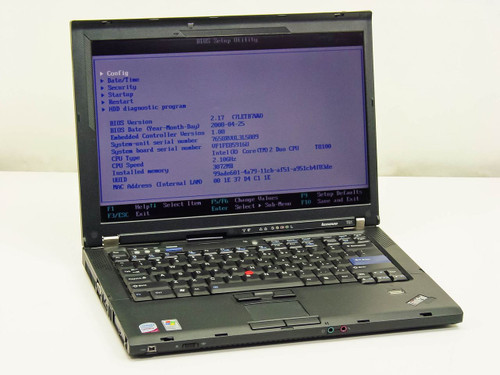 Lenovo T61 Intel Core 2 Duo 2.1GHz, 3GB RAM, 100GB HDD, NO AC adapter