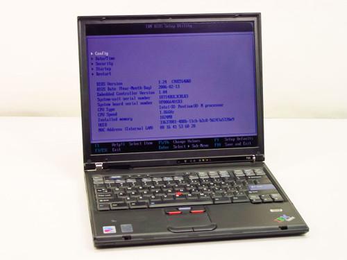 """IBM 1871-4AU 14.1"""" Intel Pentium M 1.86GHz 1.0GB RAM 40GB CDRW DVD (T43)"""