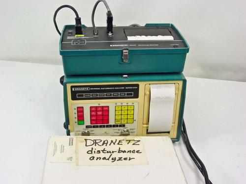 Dranetz 626A Universal Disturbance Analyzer with Printer