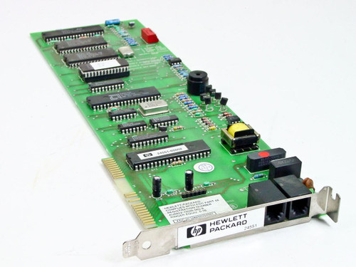 HP PCM-2400 Modem Long ISA Board Vintage (24551)