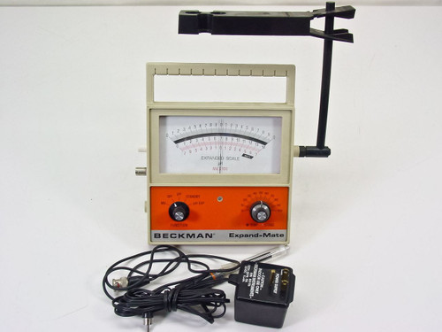 Beckman Expand-Mate pH Meter Portable with Probe Stand (72006)