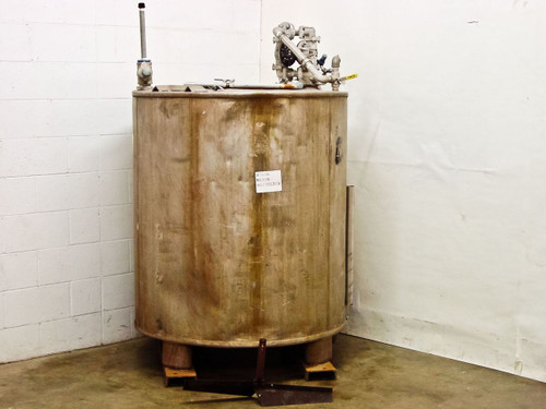 Stainless Steel Tank with SanPIPER II Air Pump & Inferno Gauge (350 Gallon)