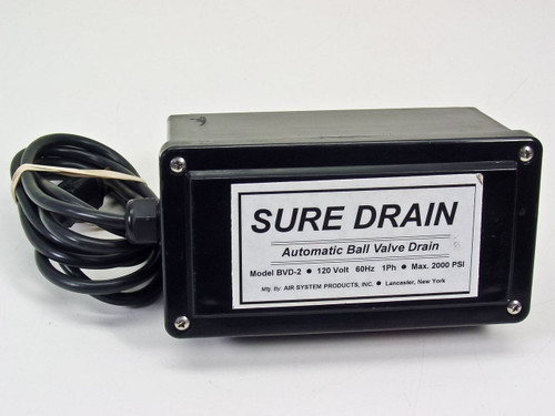 Air System Products Inc Sure Drain Automatic Ball Valve Drain (BVD-2S12)