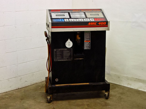 Sun Electric Mobile R-12 Freon Recycling Center w/ cover and manual (MRC 400)