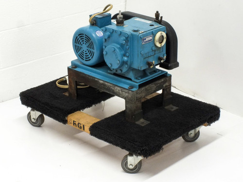 Kinney KC8 Two Stage Rotary Piston High Vacuum Pump Baldor 1/2 HP Motor KC-8