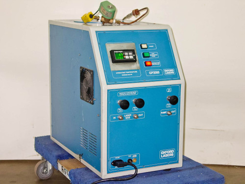 Oxford Lasers GP2000 Cryogenic Liquid Nitrogen Gas Purifier for Excimers