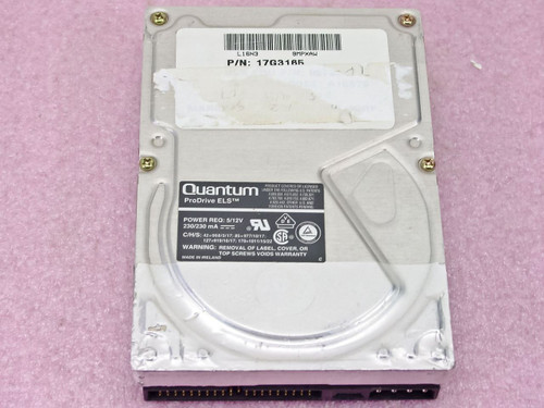 """Quantum 3.5"""" ProDrive ELS  127AT IDE Hard Drive (P112A341)"""