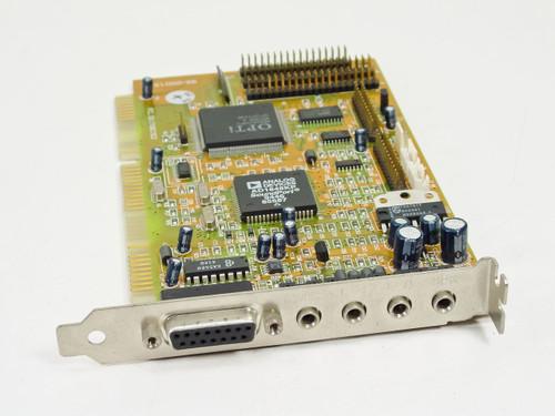 Opti ISA Sound Card 95-00015 (82C928 A)